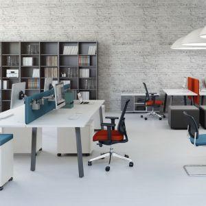 Skuteczna motywacja do pracy. Dobra aranżacja biura. Fot.  Everspace/MDD