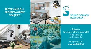 Architektów oraz projektantów wnętrz z Trójmiasta i okolic serdecznie zapraszamy na ostatnie przed wakacjami spotkanie w ramach Studia Dobrych Rozwiązań. 12 czerwcabędziemy na Was czekać w Hotelu Amond, przy ul. Toruńskiej 12 w Gdańsku!