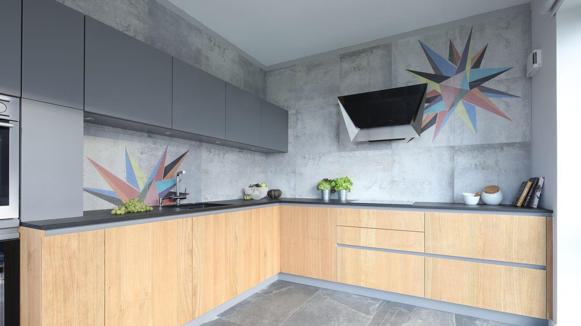 Ściana nad blatem - 20 pięknych zdjęć z polskich domów. Projekt: Magdalena Lehmann. Fot. Bartosz Jarosz