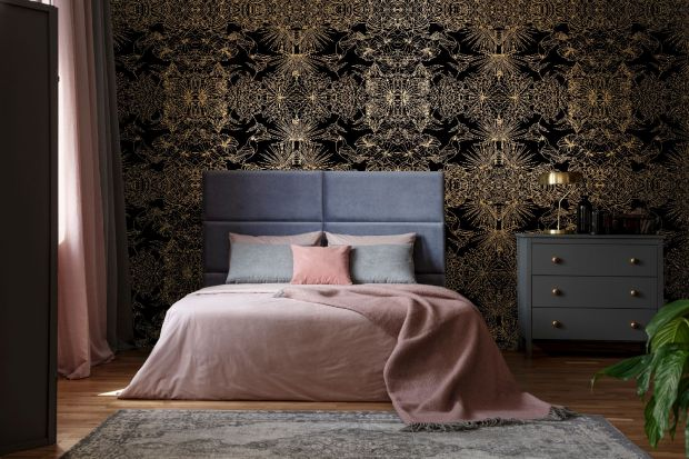 Materiały na ściany - piękne tapety  stylu art déco