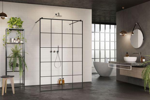 Modna łazienka - na topie czarne wykończenia