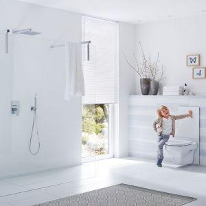 Łazienka dla dziecka - funkcjonalna, piękna i bezpieczna. fot. Tece