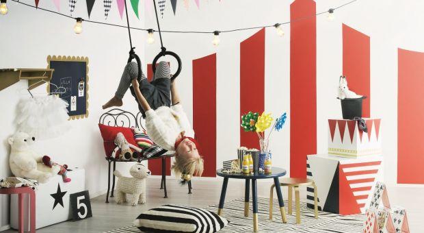 Kolorowy cyrk w pokoju dziecka - sam możesz to zrobić!