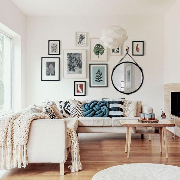 10 pomysłów na lustro w salonie
