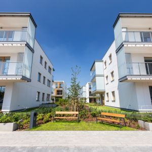 Nowe spojrzenie na doświetlenie mieszkań: osiedle  Jaśminowy Mokotów. Fot. Skanska
