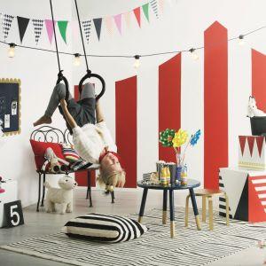 Kolorowy cyrk w pokoju dziecka. Fot. Tikkurila