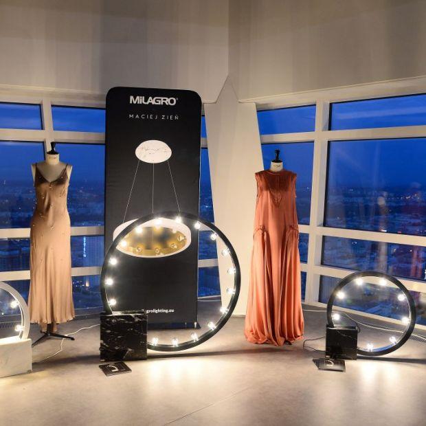 Lampy Macieja Zienia - wyjątkowy pokaz na szczycie Złotej 44