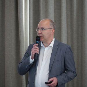 Tomasz Paszkowski z firmy Mirad