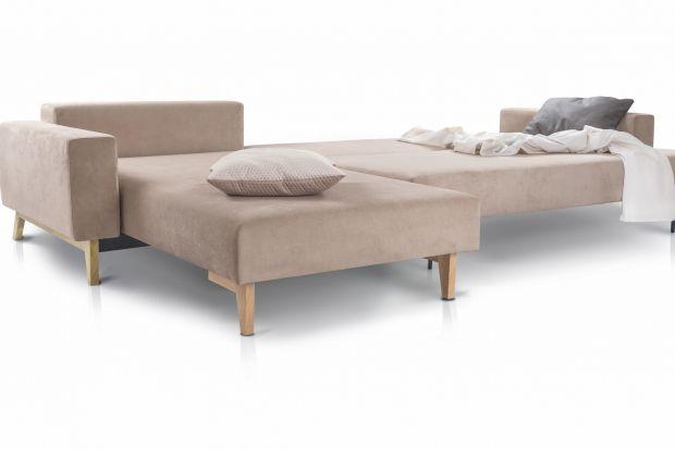 Meble wypoczynkowe - nowe sofy z funkcją spania