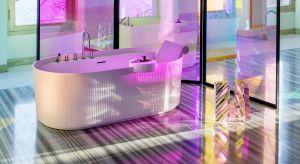 Patricia Urquiola jest jedną z najbardziej uznanych projektantek na arenie międzynarodowej. Dzięki jej charakterystycznemu podejściu powstała wyjątkowa seria, której design delikatnych opływowych kształtów inspirowany jest wodą.