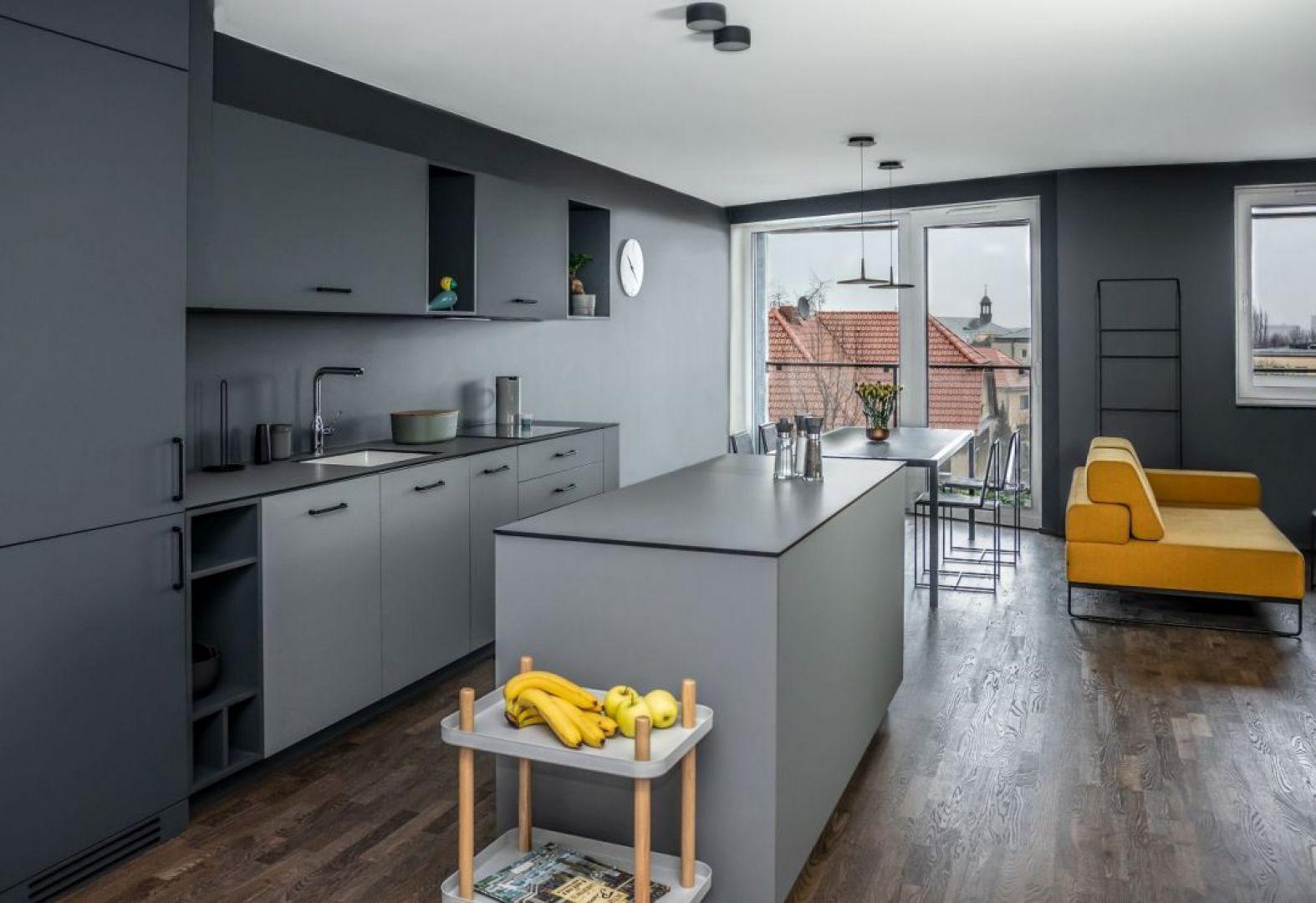 Apartament projektu Kasi Orwat na poznańskim osiedlu Wilda. Fot. Dekorian Home