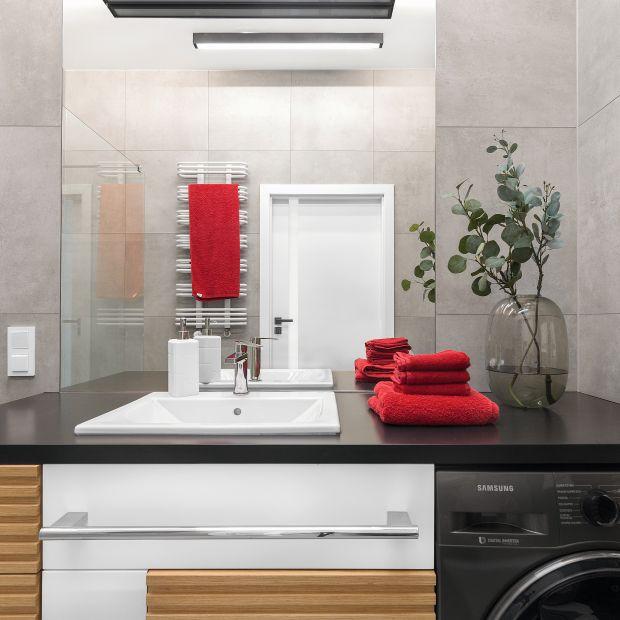 Niewielka łazienka - zobacz gotowy projekt wnętrza