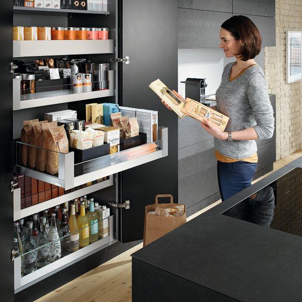 Przechowywanie w kuchni: 12 dobrych rozwiązań