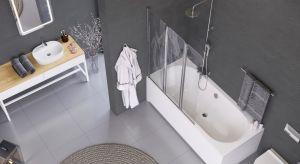 To nie metraż daje gwarancję komfortu w łazience, ale właściwie dobrane wyposażenie. W aktualnej ofercie dedykowanej małym łazienkom znajdziemy wiele nowoczesnych rozwiązań do strefy kąpieli.