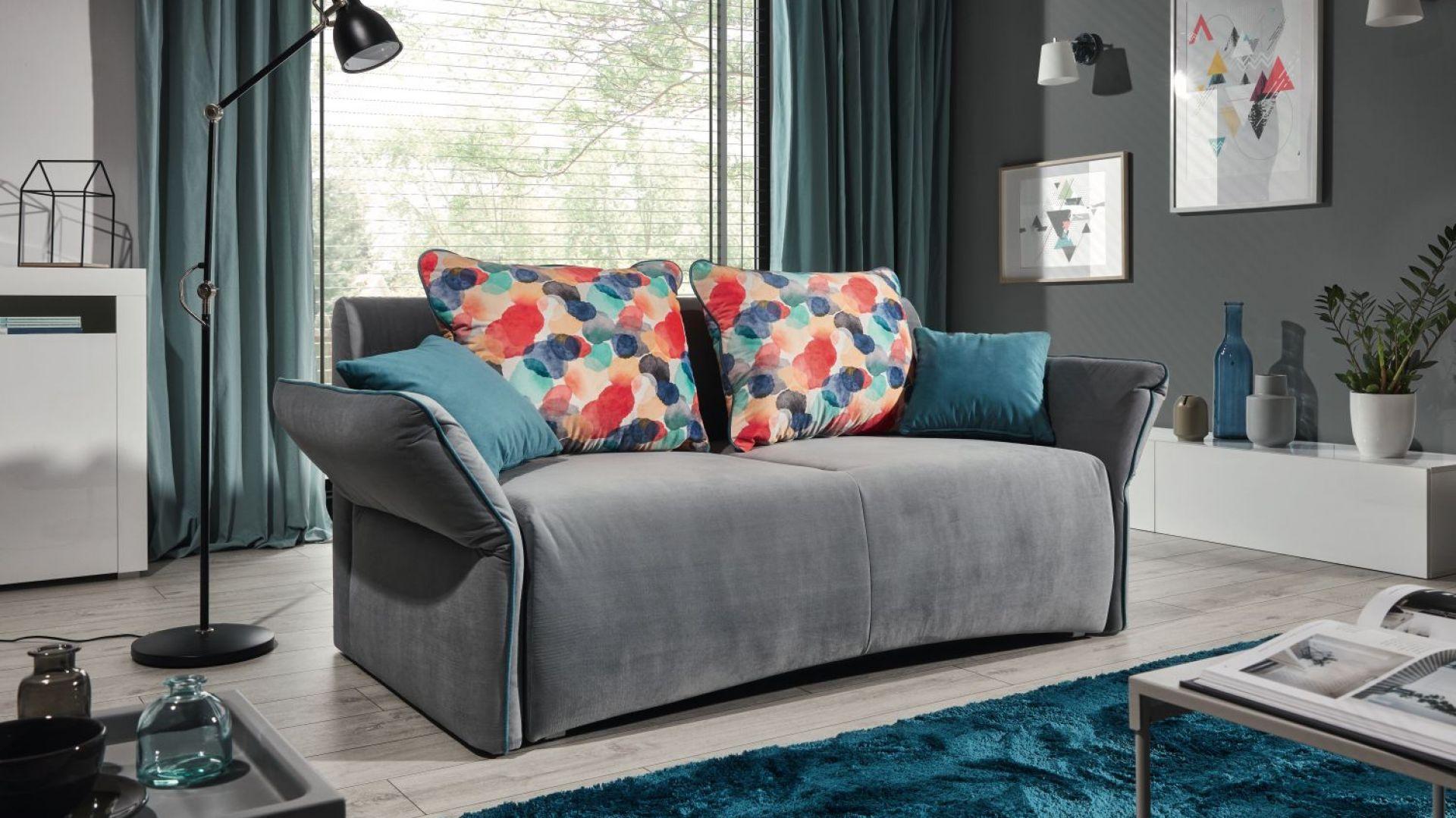 Sofa Vario z funkcją spania; szer. 175 cm; powierzchnia spania 150x200 cm.  Fot. Stagra