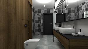 Przemyślany projekt wykorzystuje każdy centymetr dostępnej przestrzeni. Wnętrze jest nie tylko funkcjonalne, ale także spójne i ciekawie zaaranżowane pod względem stylistycznym. Projekt i wizualizacje: mia architekci