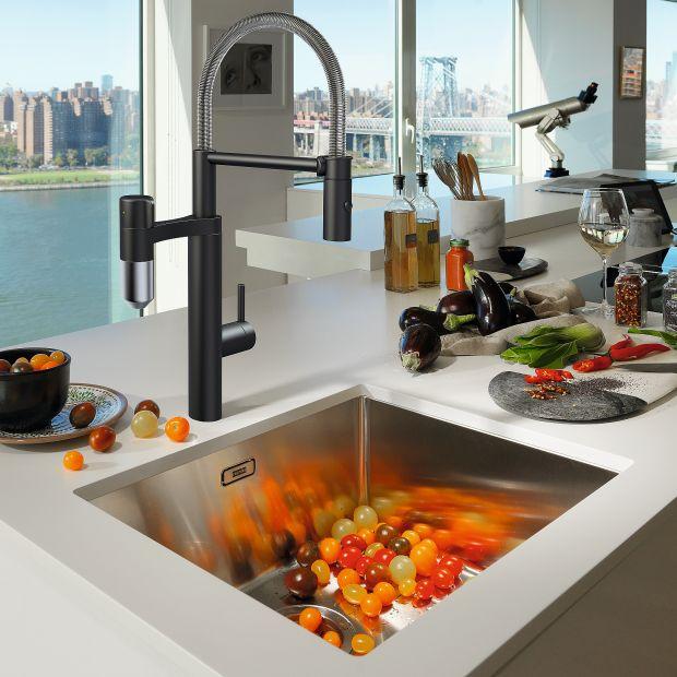 Strefa zmywania w kuchni: przegląd baterii i zlewozmywaków