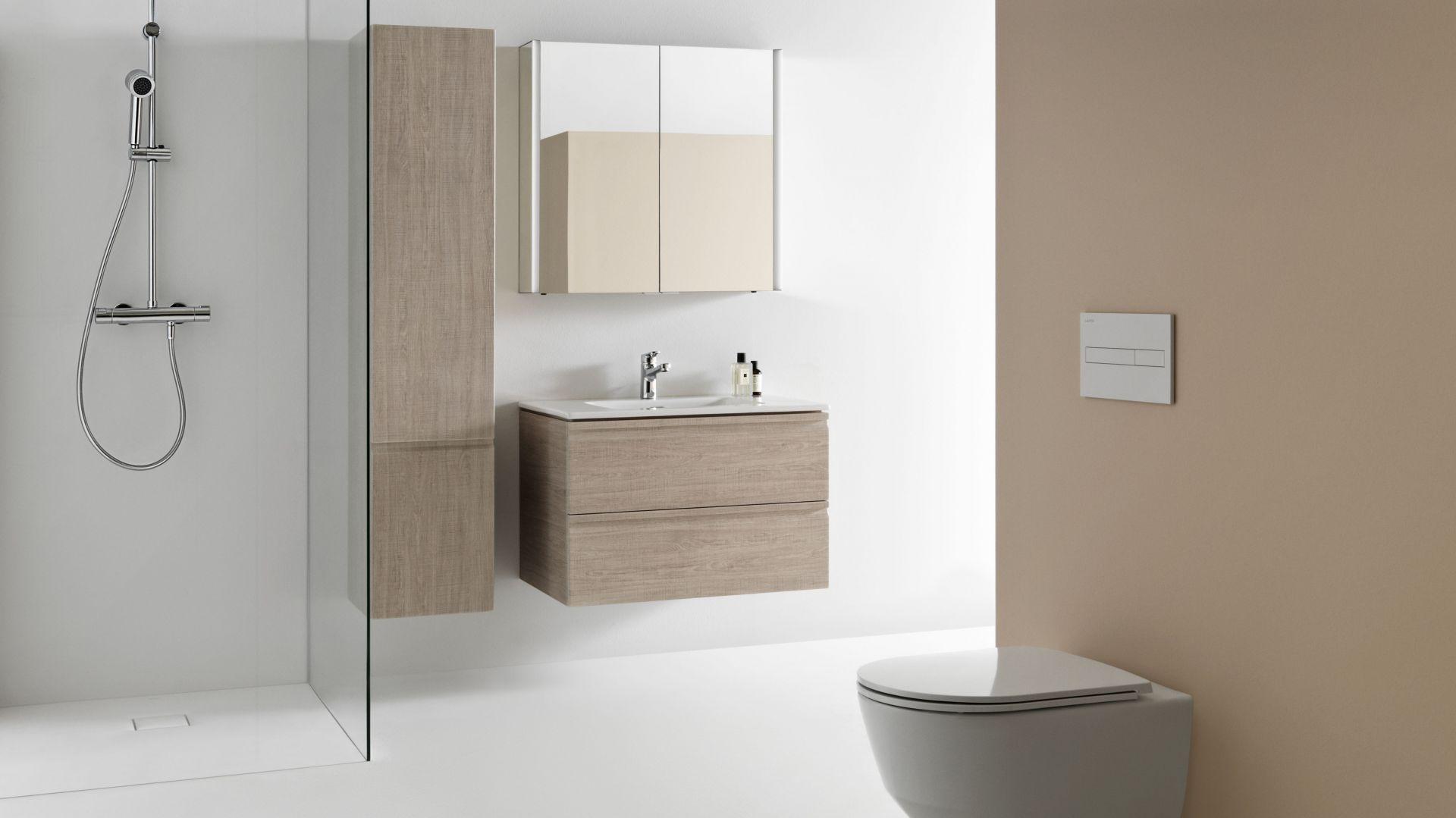 Brodziki Laufen Solutions - łazienka w innym wymiarze projektowania. Fot. Laufen