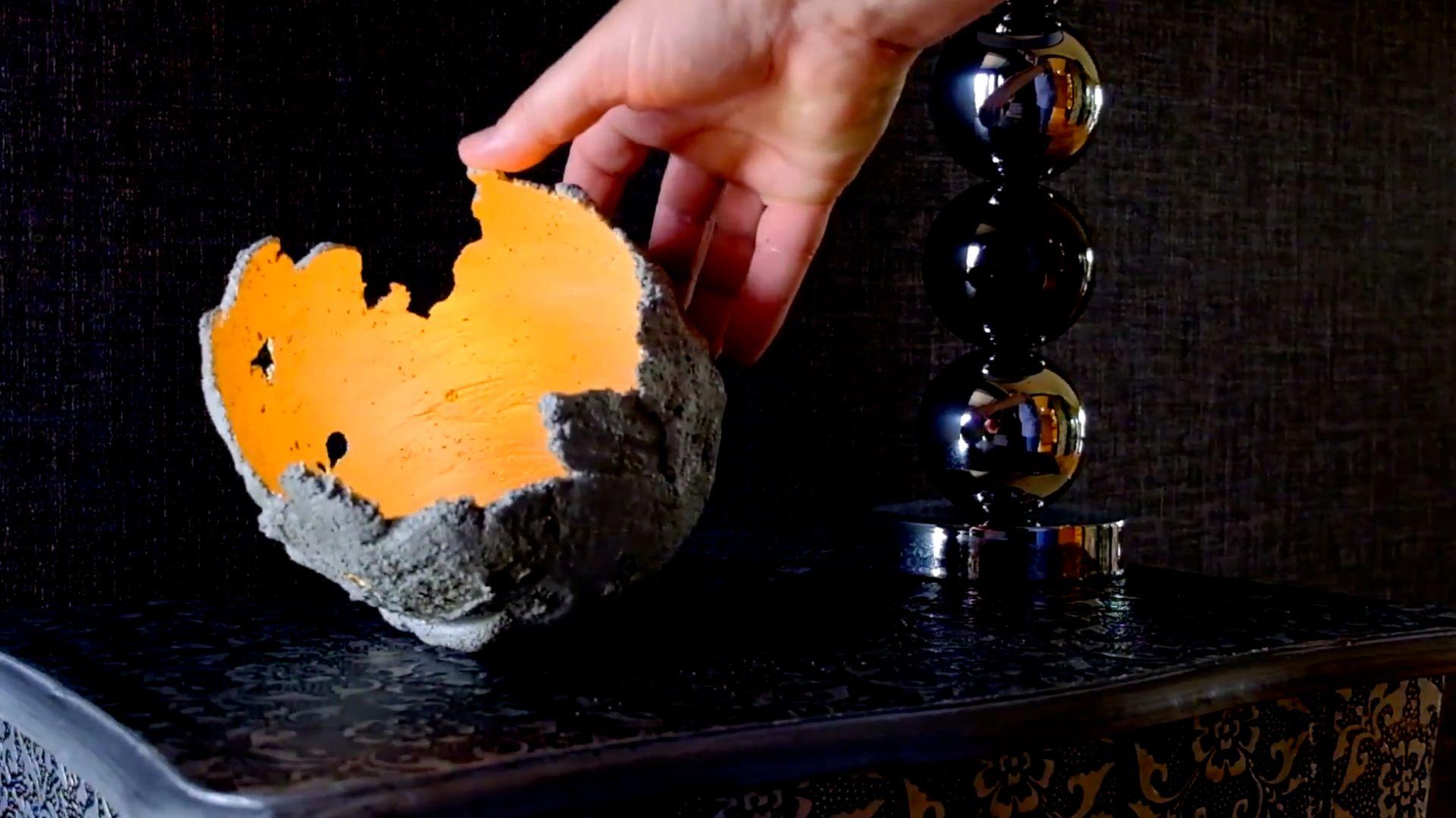 Elementy dekoracyjne z betonu możemy zrobić samodzielnie. Fot. Baumit
