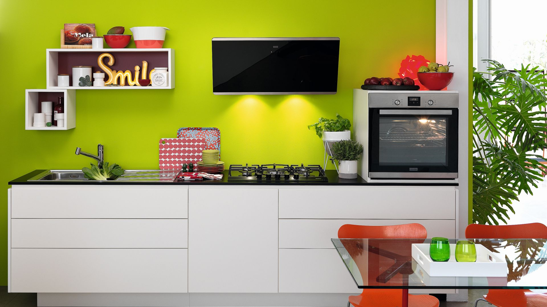 SMART - kompletny system kuchenny, oferujący najwyższą jakość w rozsądnej cenie, nowoczesną funkcjonalność i ponadczasowy design. Fot. Franke
