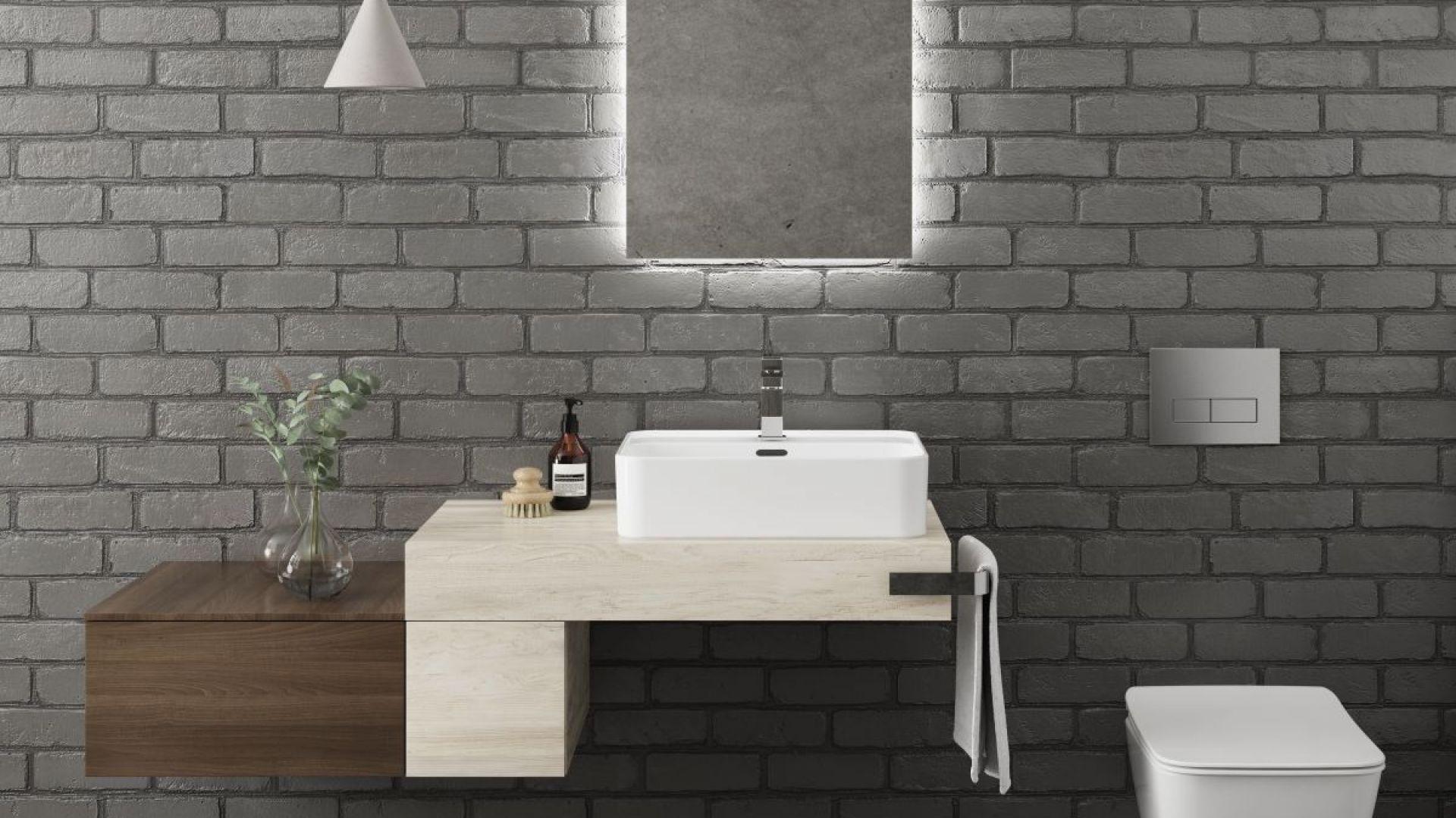 Meble Adapto - modułowa kolekcja do łazienki. Fot. Ideal Standard