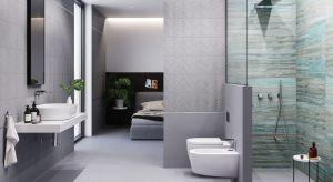 Łazienka urządzona tuż przy sypialni to wyjątkowy komfort i poczucie luksusu na co dzień.
