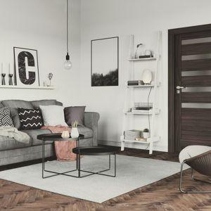 Drzwi wewnętrzne - modne modele w kolorach drewna. Fot. Porta