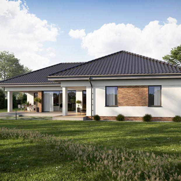 Mały dom: prezentujemy projekt i wnętrza parterówki