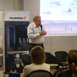 Wojciech Tomasik, przedstawiciel marki Villeroy&Boch, partnera głównego wydarzenia