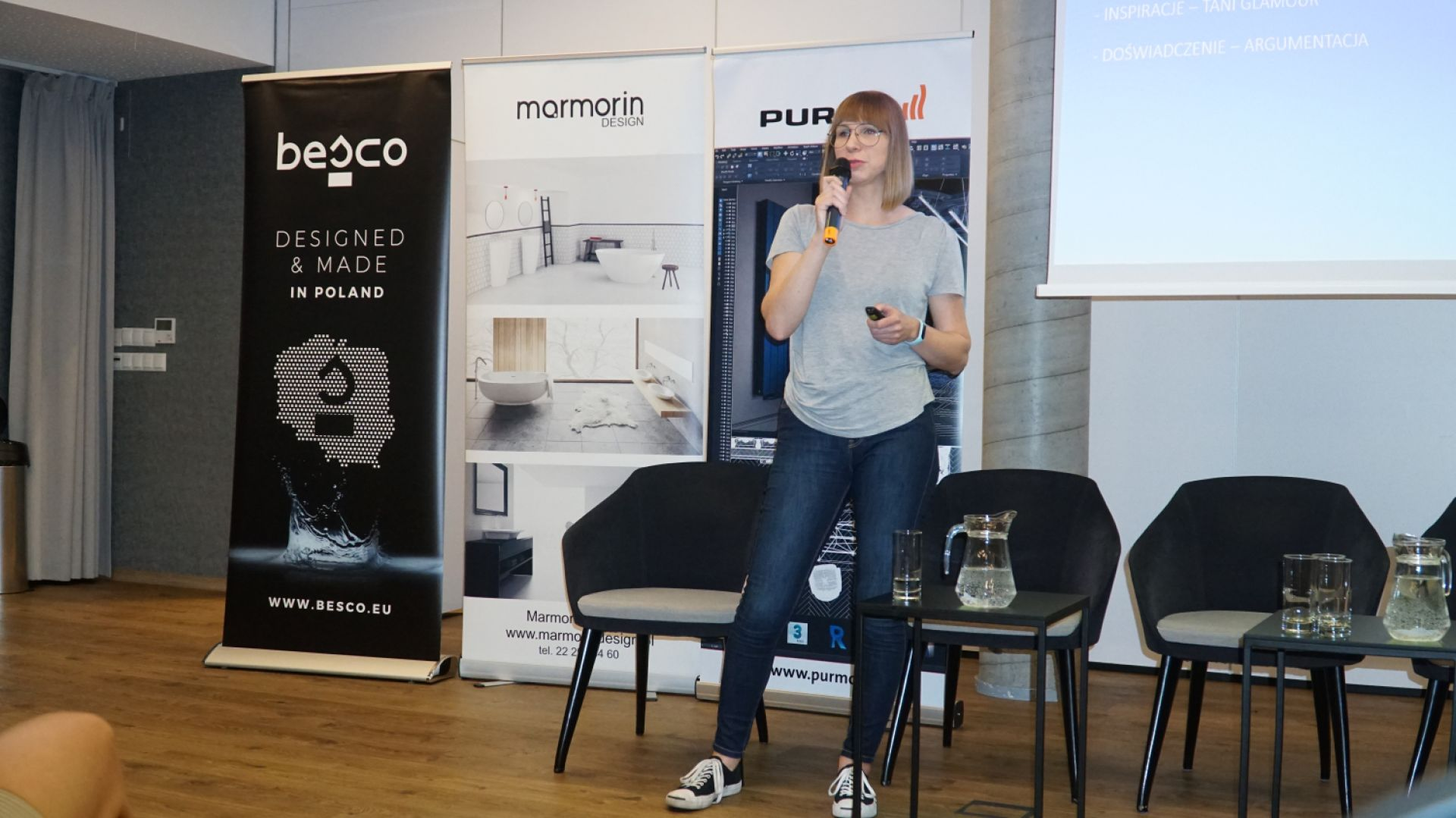 Wystąpienie gościa specjalnego arch. Anny Marii Sokołowskiej