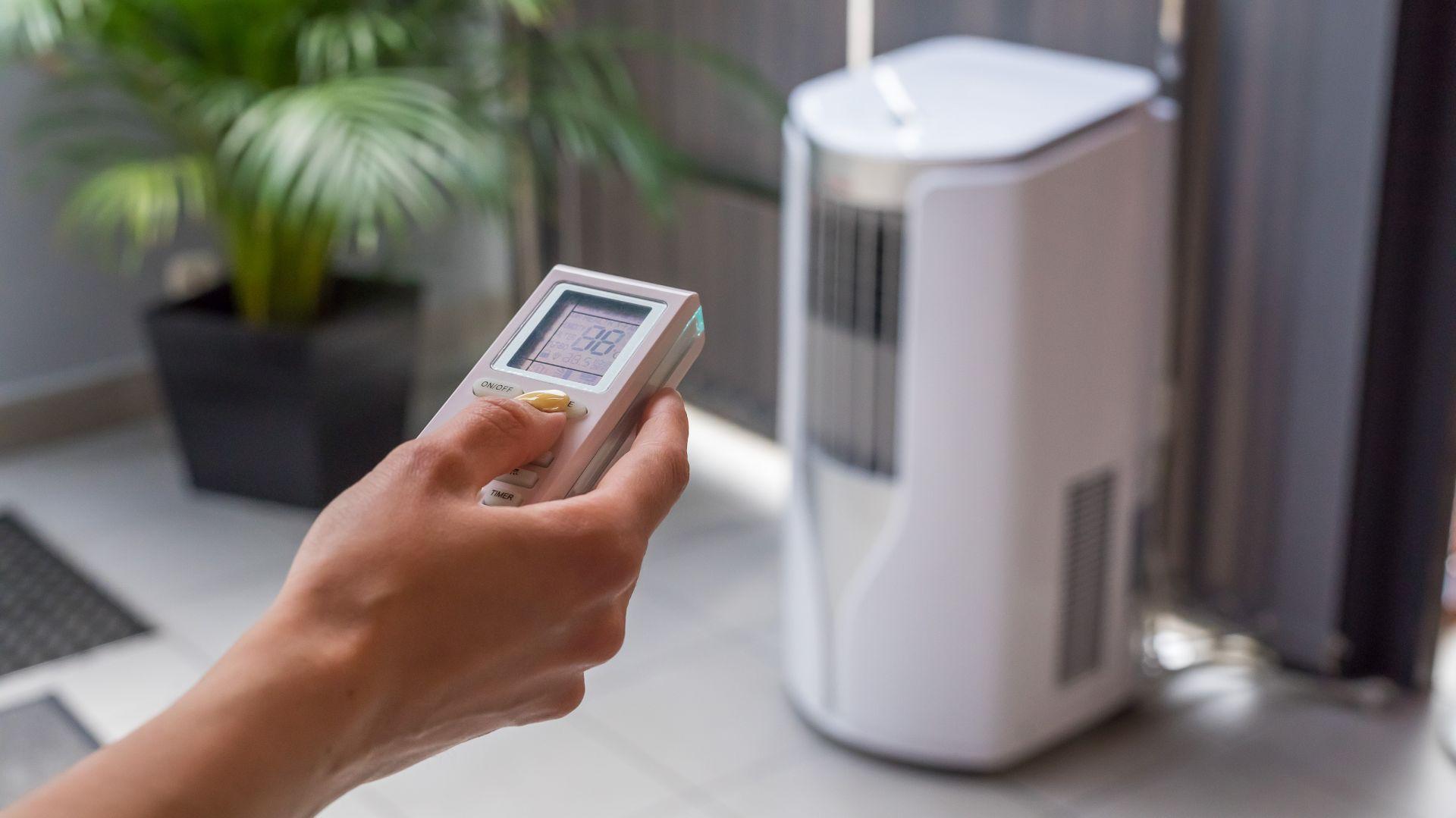 Klimatyzator przenośny. Fot. Tosot