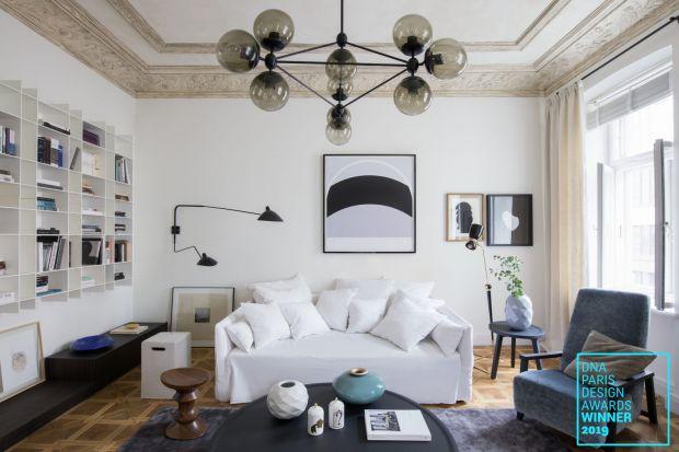 """Studio architektury wnętrz Mood Works – Karina Snuszka i Dorota Kuć odniosło sukces w międzynarodowym konkursie DNA Paris Design. Nagrodęw kategorii renowacji przyznanoarchitektkom za projekt """"Apartament Kolekcjonera"""". Pracownia zdobyła"""