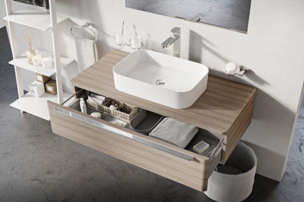 Umywalki nablatowe - postaw na subtelne kształty