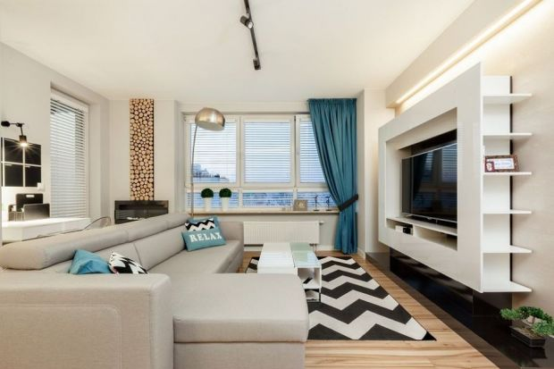 Dywan w salonie - tak podzielisz przestrzeń!