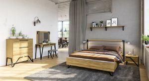 Można połączyć surowość loftu z przytulnością buduaru? Oczywiście. Powstanie kompozycja dla osób, które lubią odrobinę… szaleństwa. Czy potrzeba lepszej rekomendacji dla loftowej sypialni?