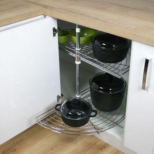 Nowoczesna kuchnia - pomysł na szafki narożne. Fot. Rejs