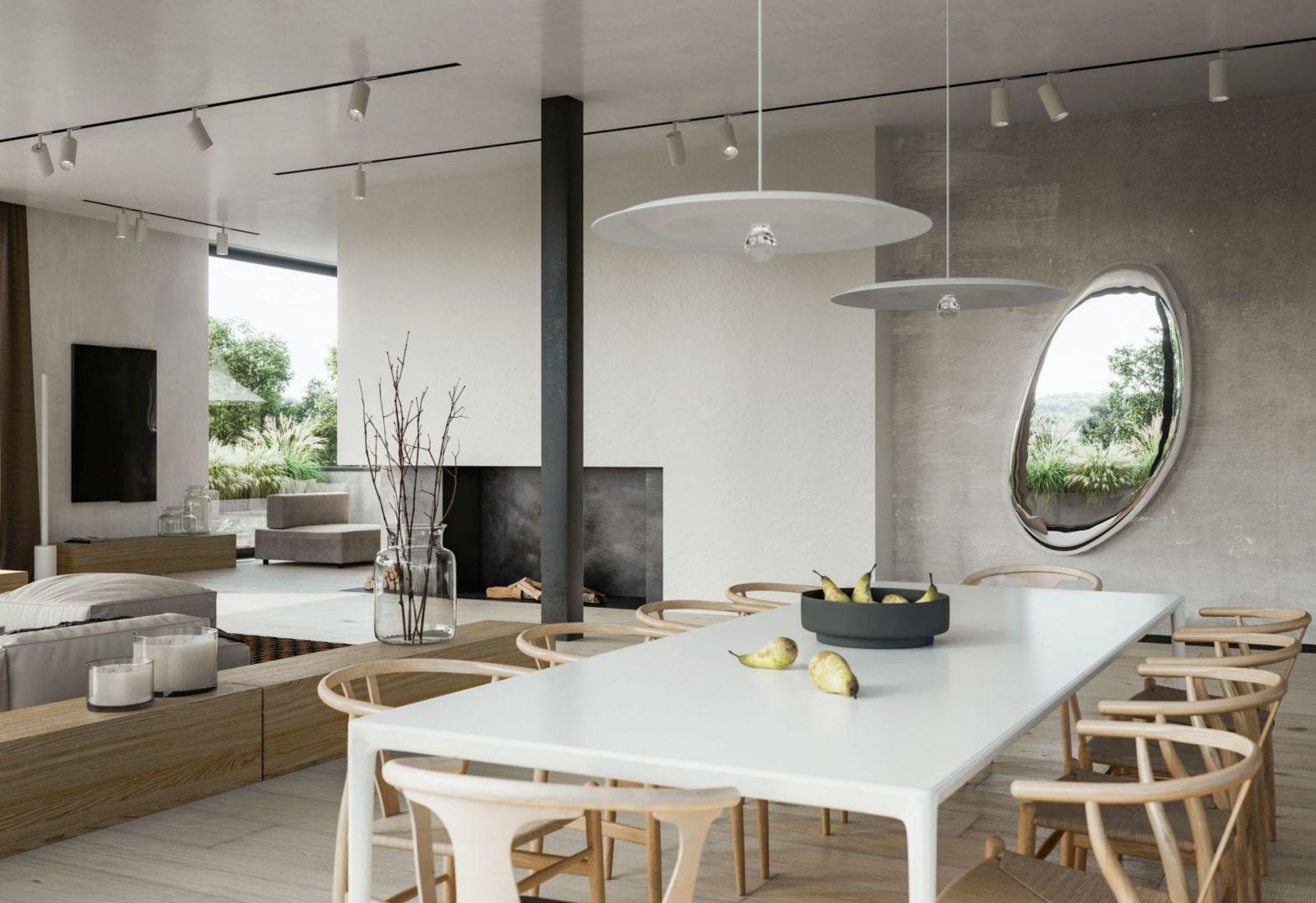 Architekci ze Studio.O. ograniczają liczbę ścian i otwierają przestrzeń. Taką powierzchnię łatwo jest przearanżować i zaadaptować według różnych potrzeb. Projekt i zdjęcie: Studio.O.
