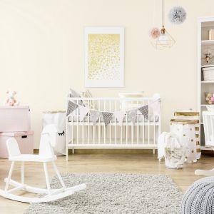 Kącik dla dziecka w sypialni. Fot. Śnieżka