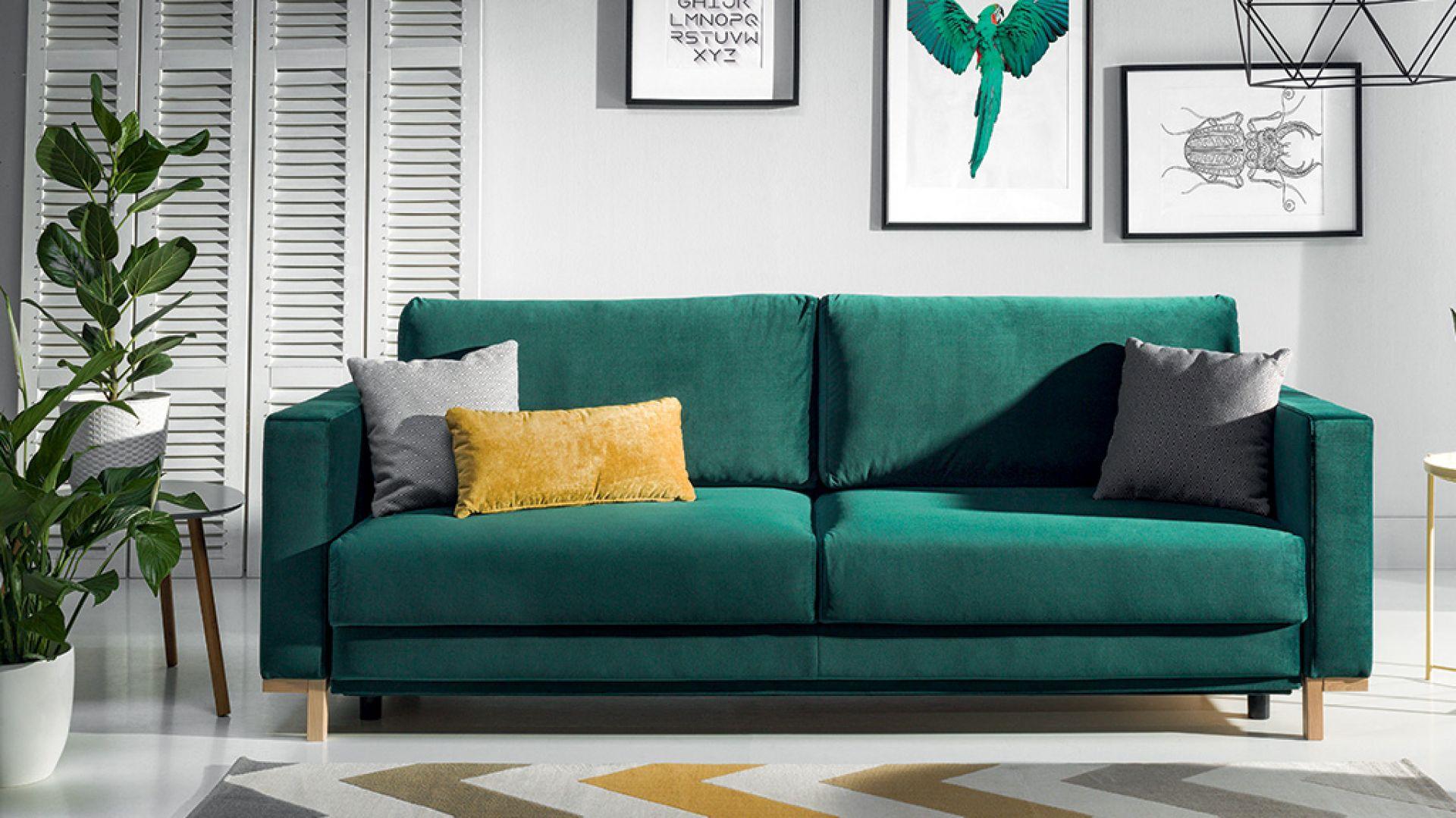Sofa Modo dostępna w ofercie firmy Wajnert Meble. Fot. wajnert Meble