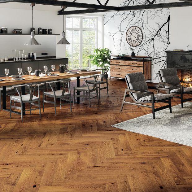 Drewniana podłoga: 12 pięknych kolekcji