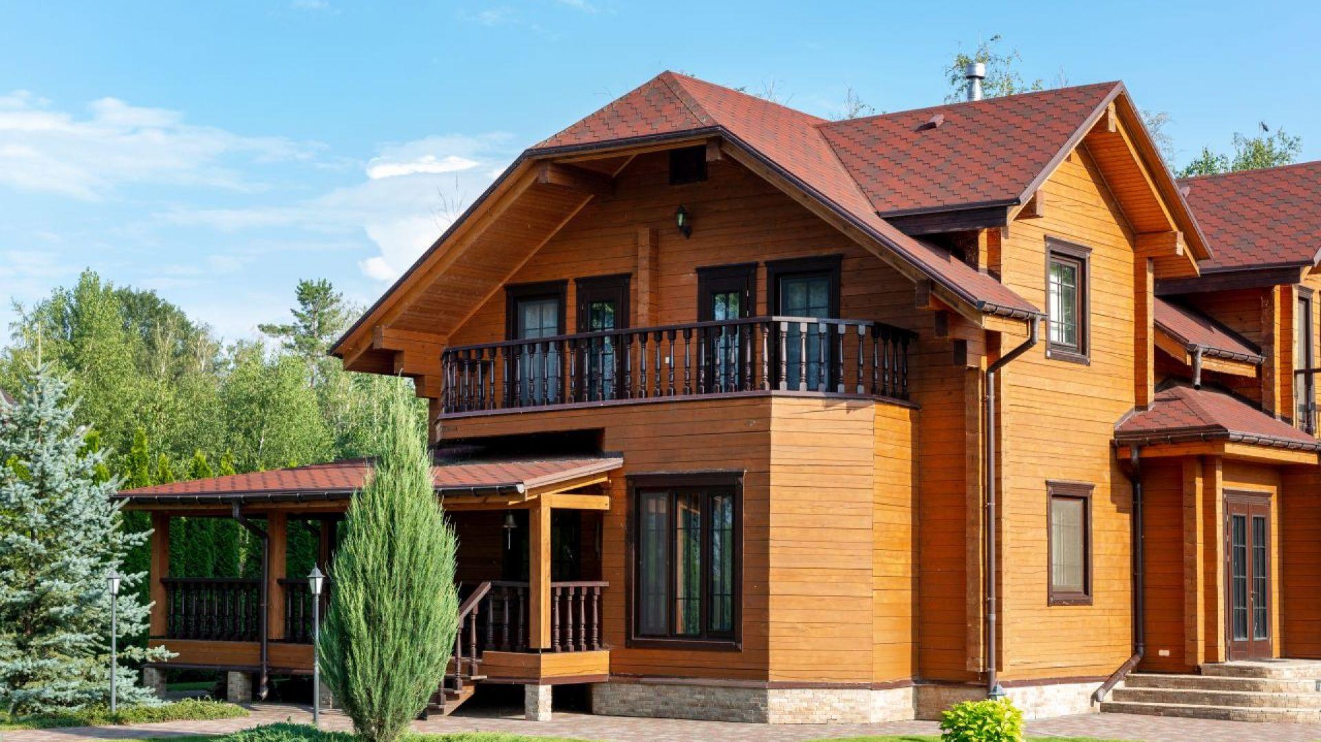 Drewniana elewacja - sposoby na zabezpieczenie. Fot. V33
