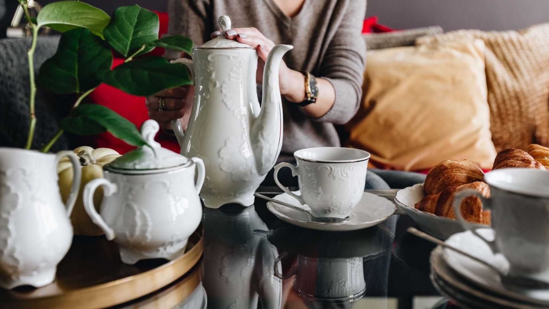Modna kuchnia. Porcelana idealna na rodzinne poranki Fot. Ula Michalak/Ćmielów