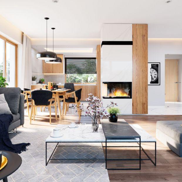 Mały dom - projekt i wnętrza 120-metrowego domu