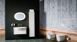 Niezwykła kolekcja ceramiki łazienkowej zawiera umywalki, w tym umywalki nablatowe i małe umywalki w kilku rozmiarach, miskę WC, bidet WC i poetyczną wannę z konglomeratu Sentec.