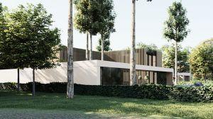 Dom z Ogrodem pracowni MODULA architekci ma charakter budynku funkcjonalnie współpracującego z otoczeniem. Projekt: modula architekci