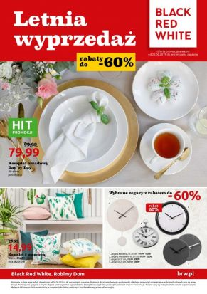 Gazetka promocyjna Black Red White: dodatki taniej do 35%. Zobacz!