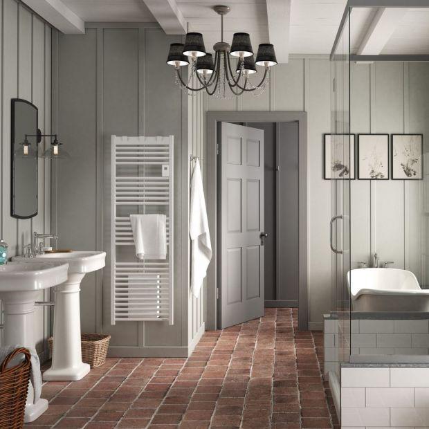 Wyposażenie łazienki na chłodne dni. Grzejnik elektryczny i wentylator w jednym