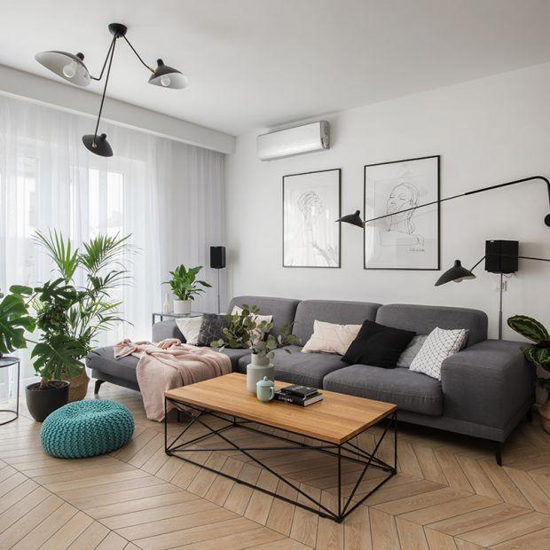 Piękny salon. Zobacz nowy model sofy