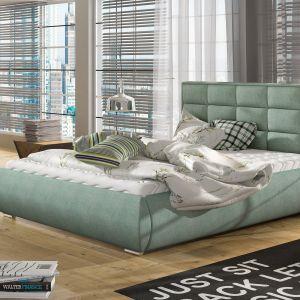 Łóżko tapicerowane Boston marki Comforteo. Fot. Comforteo