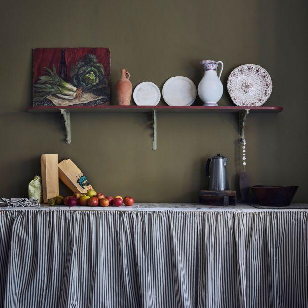 Kuchnia w kolorze. Zobacz jak się prezentuje w oliwkowym odcieniu